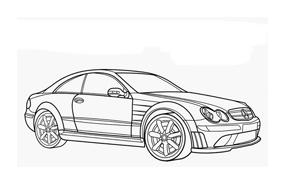 Automobile da colorare 329