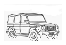 Automobile da colorare 330