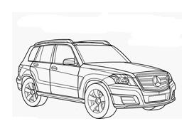 Automobile da colorare 332