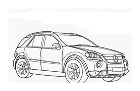 Automobile da colorare 334