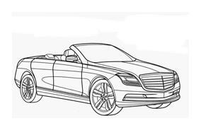 Automobile da colorare 335