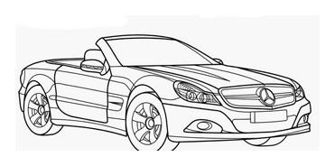 Automobile da colorare 338