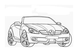 Automobile da colorare 339