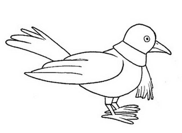 Uccello da colorare 189
