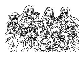 Principesse sirene da colorare 14