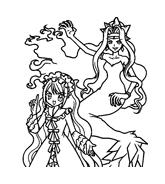 Principesse sirene da colorare 33