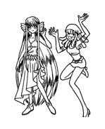 Principesse sirene da colorare 34