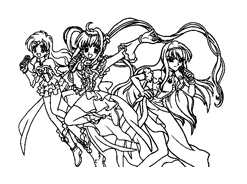 Principesse sirene da colorare 47