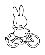 Miffy da colorare 2