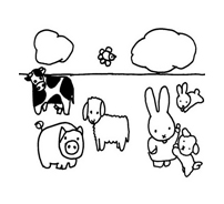 Miffy da colorare 4