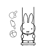Miffy da colorare 6