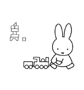 Miffy da colorare 9