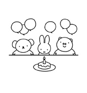 Miffy da colorare 10