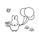 Miffy da colorare 11