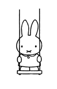Miffy da colorare 12