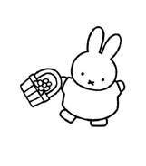 Miffy da colorare 13