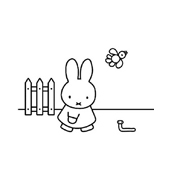 Miffy da colorare 17