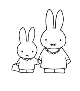 Miffy da colorare 19