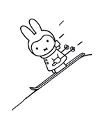 Miffy da colorare 20