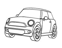 Automobile da colorare 341