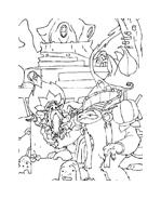 Arthur e il popolo dei minimei da colorare 130