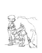 Arthur e il popolo dei minimei da colorare 134