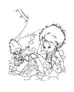 Arthur e il popolo dei minimei da colorare 135