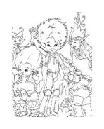 Arthur e il popolo dei minimei da colorare 136
