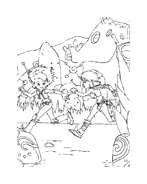 Arthur e il popolo dei minimei da colorare 142