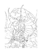 Arthur e il popolo dei minimei da colorare 143