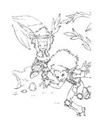 Arthur e il popolo dei minimei da colorare 144