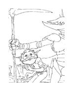 Arthur e il popolo dei minimei da colorare 147