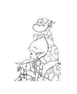 Arthur e il popolo dei minimei da colorare 154