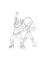 Arthur e il popolo dei minimei da colorare 159