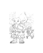 Arthur e il popolo dei minimei da colorare 163