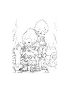 Arthur e il popolo dei minimei da colorare 166