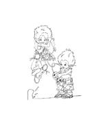 Arthur e il popolo dei minimei da colorare 169