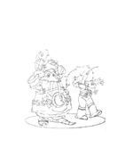 Arthur e il popolo dei minimei da colorare 170