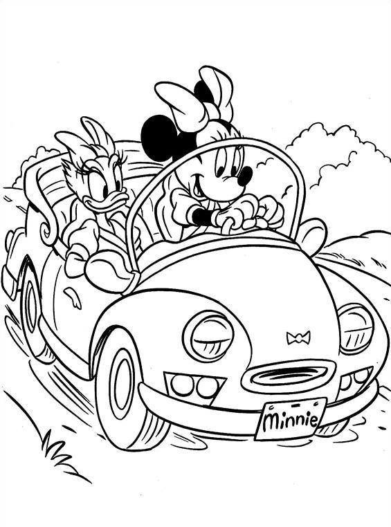 Minnie da colorare 28