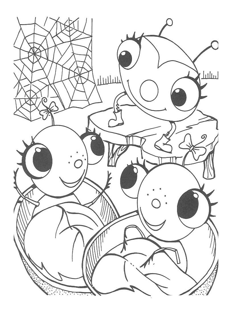 Miss spider da colorare 26