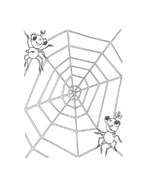 Miss spider da colorare 29