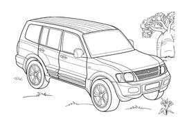 Automobile da colorare 346