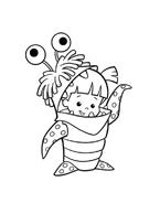 Monsters e co da colorare 14