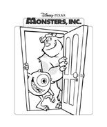 Monsters e co da colorare 29