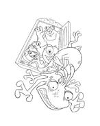 Monsters e co da colorare 71