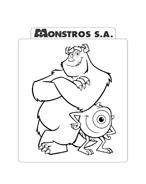 Monsters e co da colorare 94