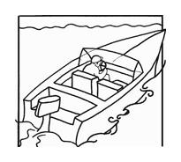 Nave e barca da colorare 66