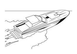 Nave e barca da colorare 67