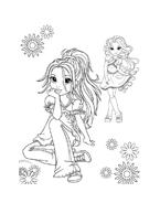 Moxie girlz da colorare 6