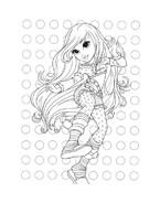 Moxie girlz da colorare 11